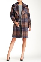 Trina Turk Scarlett Plaid Coat
