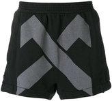 11 By Boris Bidjan Saberi printed shorts - men - Cotton - S