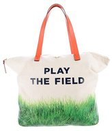 Kate Spade Play The Field Call to Action Terry Canvas Tote
