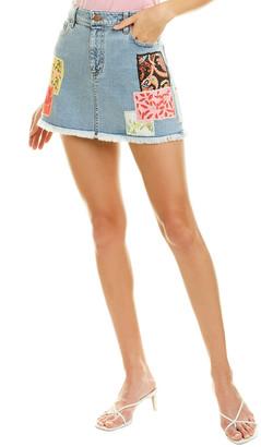 Alice + Olivia Good High-Rise Mini Skirt