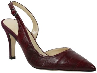 J. Renee Pointed-Toe Slingback Pumps - Leonela