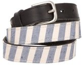 Rag & Bone Striped Canvas Belt