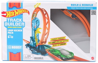 Mattel Hot Wheels Track Builder Unlimited Loop Kicker Pack - Style May Vary