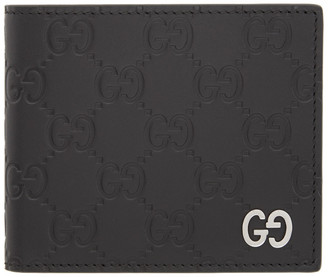 Gucci Black Signature GG Embossed Wallet