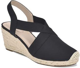 Bandolino Women's Sandals BLMFB - Black Nila Wedge Sandal - Women