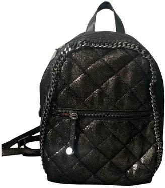 Stella McCartney Stella Mc Cartney Falabella Go Metallic Cloth Backpacks