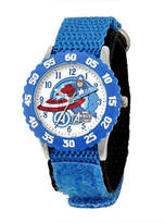 Marvel Captain America Kids Blue Nylon Strap Watch