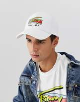 Tommy Jeans baseball cap with signature logo in white