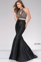 Jovani Two-Piece Mermaid Prom Dress 49912