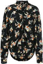 Marni gathered detail shirt - women - Silk - 38