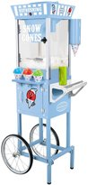 Nostalgia Electrics Vintage Collection Old Fashioned Snow Cone Cart - SCC200 - Blue