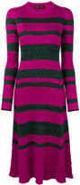 Proenza Schouler striped ribbed dress - women - Silk/Viscose/Cashmere/Wool - S