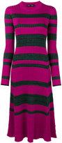 Proenza Schouler striped ribbed dress