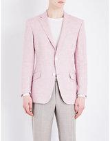 Richard James Hopsack Regular-fit Linen Jacket