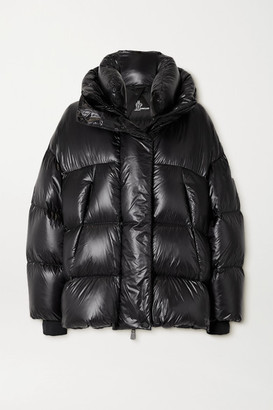 MONCLER GRENOBLE Arpuilles Quilted Glossed-shell Down Jacket - Black