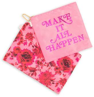 ban.do 2-Piece Make It All Happen Pouch Set