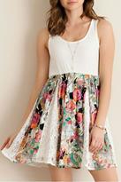 Entro Spring Lace & Floral Dress