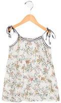 Caramel Baby & Child Girls' Floral Print Sleeveless Dress