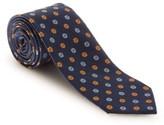 Robert Talbott Men's Floral Silk & Linen Tie