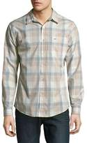 Dockers Plaid Cotton Button-Down Shirt