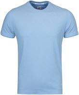Cp Company Sky Blue Tacting Knit Short Sleeve T-shirt
