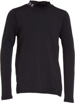 Under Armour Junior ColdGear Evo Fitted Long Sleeve Mock Neck Top Black