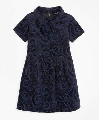 Brooks Brothers Girls Velvet Dress