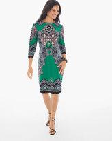 Chico's Ornate Paisley Short Dress
