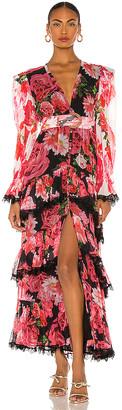 Rococo Sand Viola Dress