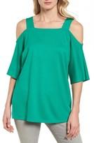 Halogen Women's Cold Shoulder Tunic Top