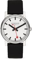 Mondaine Monochrome Stainless Steel Watch