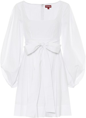 STAUD Isabella stretch-cotton dress