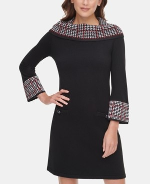 Jessica Howard Cowlneck Sweater Dress