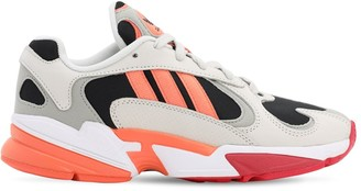 adidas Yung-1 Mesh & Suede Sneakers