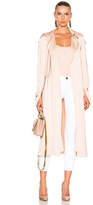Lover Anise Satin Trench