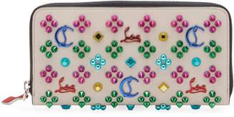 Christian Louboutin Panettone Embellished Calf Wallet