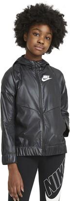 Nike Sportswear Kids' Windrunner Water Repellent Hooded Jacket