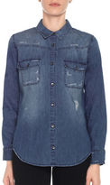 Joe's Jeans Melani Cotton Denim Shirt