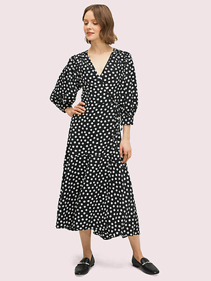 Kate Spade Cloud Dot Wrap Dress