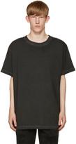 Off-White Black Garment-Dye T-Shirt