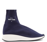 Joshua Sanders New York high-top sock trainers