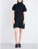 Issey Miyake Thunder textured twill dress