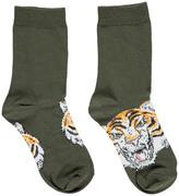 Stella McCartney Trumpet Tiger Socks