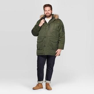 Men's Tall Parka Winter Coat - Goodfellow & CoTM