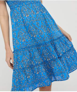 Monsoon Wren Organic Cotton Dress - Blue