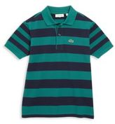 Lacoste Toddler's, Little Boy's & Boy's Bold Striped Polo Shirt