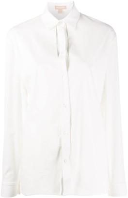 MATÉRIEL front slit shirt