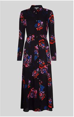 Whistles Freya Print Shirt Dress