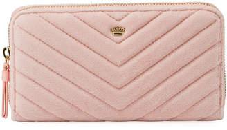 Juicy Couture Zip-Around Velour Wallet