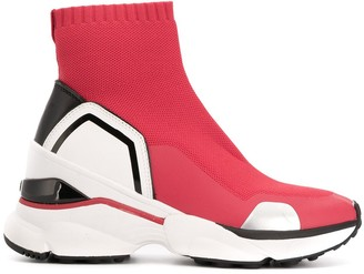 MICHAEL Michael Kors Wedge Sneaker Boots